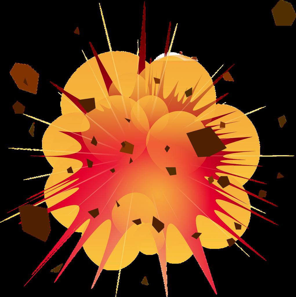 explosion, detonation, boom
