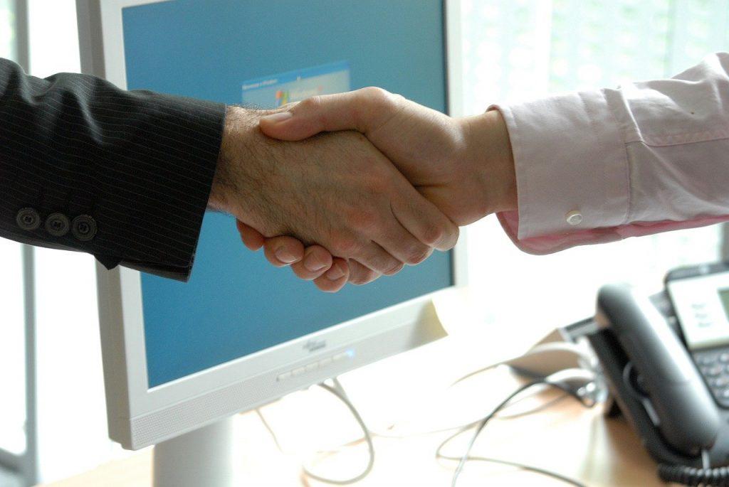 handshake, business, professional